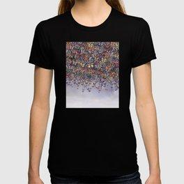 butterfly cascade T-shirt