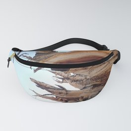 Trees twisting in the wind Fanny Pack