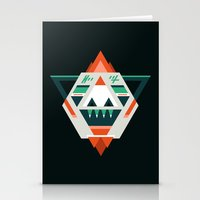 sasquatch Stationery Cards featuring Sasquatch boss by Samuel Boucher