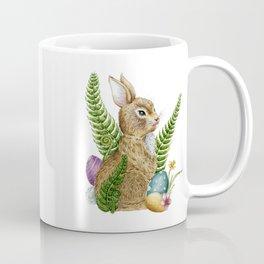 Vintage Spring Easter Bunny Coffee Mug