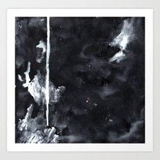 Black N White Art Print