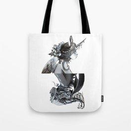 Unicorn and Dragon Tote Bag