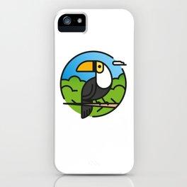 Toucan –  Color iPhone Case