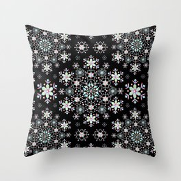 Snowflake Lace Throw Pillow