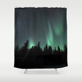 The magic of a wolf girl Shower Curtain