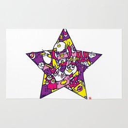 PINK STAR Rug