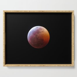 Blood Moon 2019 Serving Tray