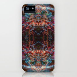Abstract Light-trails Mandala 779 iPhone Case