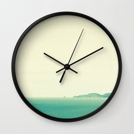 Cape Kidnappers Wall Clock