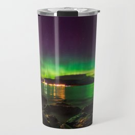 Dance With Auroras Travel Mug