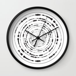 I Wouldn't Normally Do This Type Of Thing (the Rite of Spring) Wall Clock