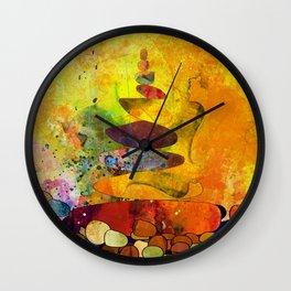 The way to Santiago de Compostela Wall Clock