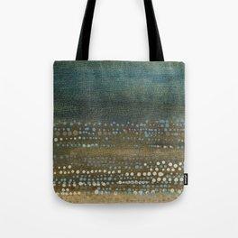 Landscape Dots - Night Tote Bag