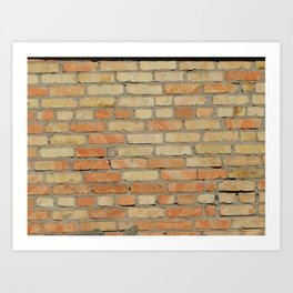 Building materials textures for architecture Art Print