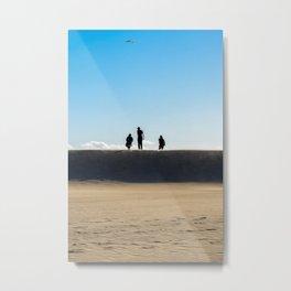 Venice Beach California Surfers Metal Print