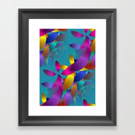3D abstraction -19- Framed Art Print