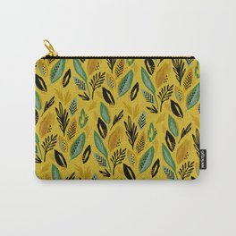 Celadon Leaves Carry-All Pouch