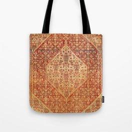 Sehna Saronim Kurdish Northwest Persian Rug Print Tote Bag