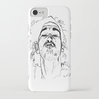 matty healy iPhone & iPod Cases featuring Kiss Matty by rachelmbrady_art