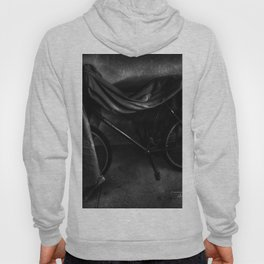 Get On Your Bike And Ride - Black And White Hoody