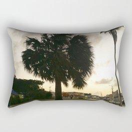 Caribbean sunset Rectangular Pillow
