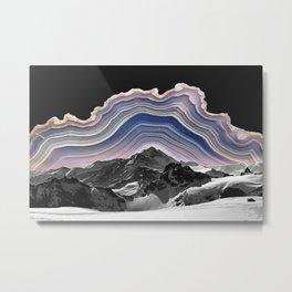 Agate Mountains Metal Print