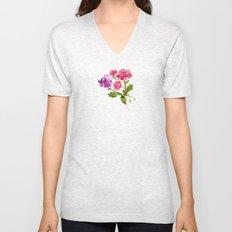 Floral No. 1 Unisex V-Neck