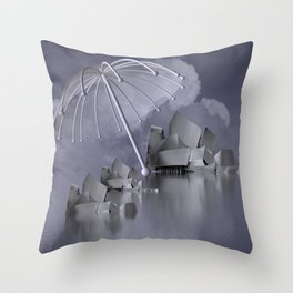 sheltered -2- Throw Pillow