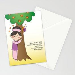 Kiara - Bäume ausreissen Stationery Cards