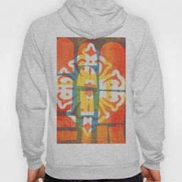 Print in colour Hoody