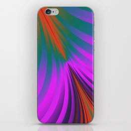 design for curtains and more -102- iPhone Skin