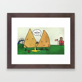 Nacho Friend Framed Art Print
