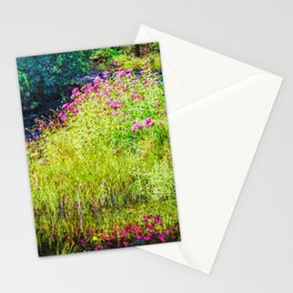Monet's creek Stationery Cards