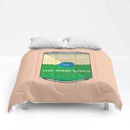 The wind rises- Miyazaki - Special Soup Series  Comforters