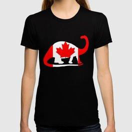 Canada Brontosaurus T-shirt