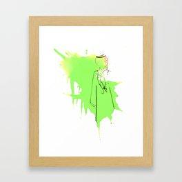 Sword Dance Framed Art Print
