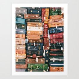 Travel Heart Art Print