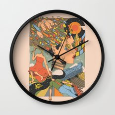 A Shattered Mind  Wall Clock