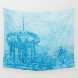 The Sudbury Water Tower Wall Tapestry