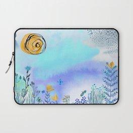 Blue Garden II Laptop Sleeve
