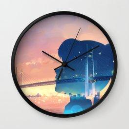 moonlight densetsu Wall Clock