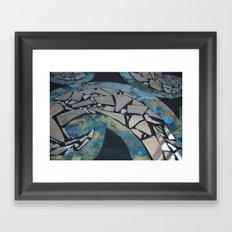 REFLECTIVE RYTHM Framed Art Print