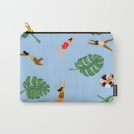 Floating in the sea Carry-All Pouch