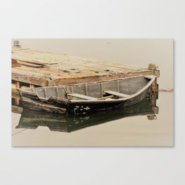 Maine Row Boat Canvas Print