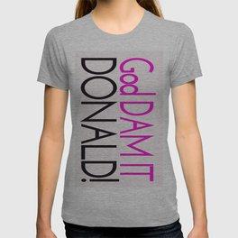 GDDonald Camp Slogan T-shirt
