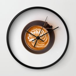 Lost in the Morning Wall Clock