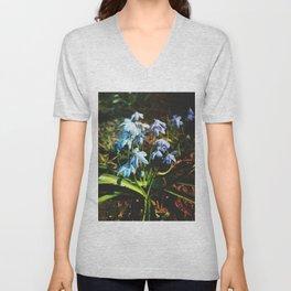 just a lovely flowers Unisex V-Neck