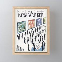"""Cover of """" The new Yorker"""" magazine. Mar. 6 1965. Framed Mini Art Print"""