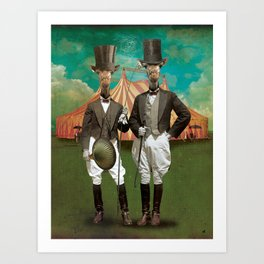 Circus-Circus :: The Twins Art Print