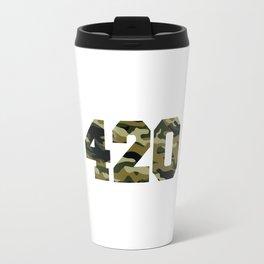 Camo 420 Travel Mug